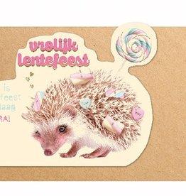 Enfant Terrible Enfant Terrible card  + enveloppe 'lentefeest egel'