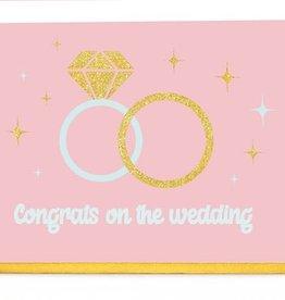 Enfant Terrible Enfant Terrible card  + enveloppe 'Congrats on the wedding'
