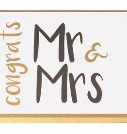 Enfant Terrible Enfant Terrible card  + enveloppe 'Congrats Mr. & Mrs.'