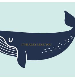 Enfant Terrible Enfant Terrible card  + enveloppe 'I whaley like you'