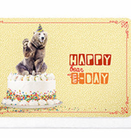 Enfant Terrible Enfant Terrible card  + enveloppe 'happy bear-day'