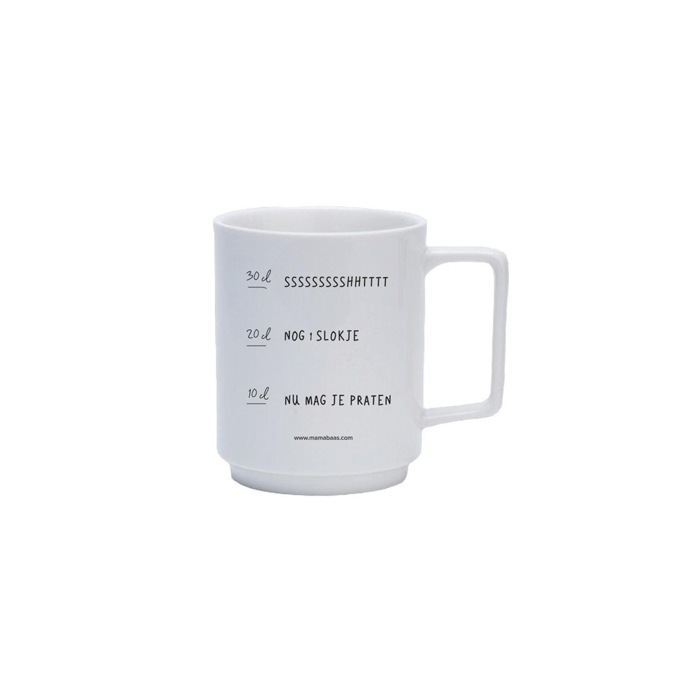 Lannoo Uitgeverij Coffee mug - Nu mag je praten
