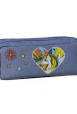 Caramel & cie Double pencil case pop unicorn