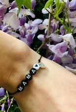 Lief Label Bracelet mama - black