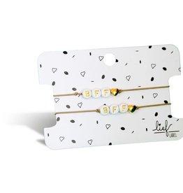 Lief Label Bracelet set BFF - beige