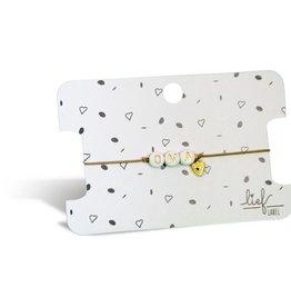 Lief Label Bracelet Oma - beige
