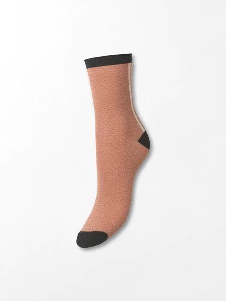 Beck Söndergaard Shimmer Pasha sock - Desert sand 37/39