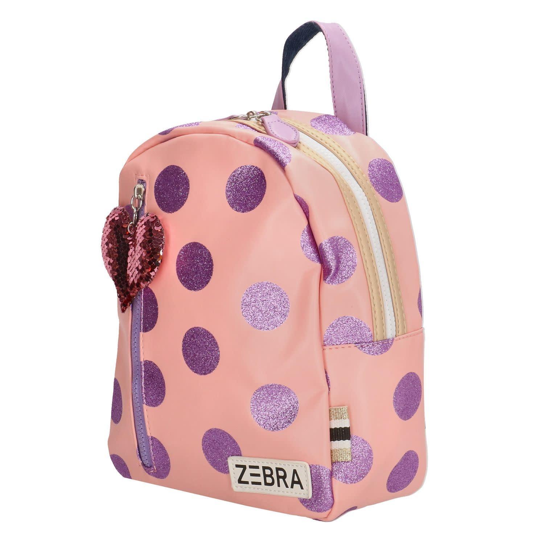Zebra Zebra backpack pink - purple 30x25x11 cm
