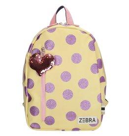 Zebra Zebra backpack yellow - purple 30x25x11 cm