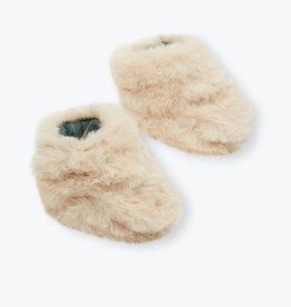 Arsène et les Pipelettes Fake fur shoes size 2 (12-18 M)