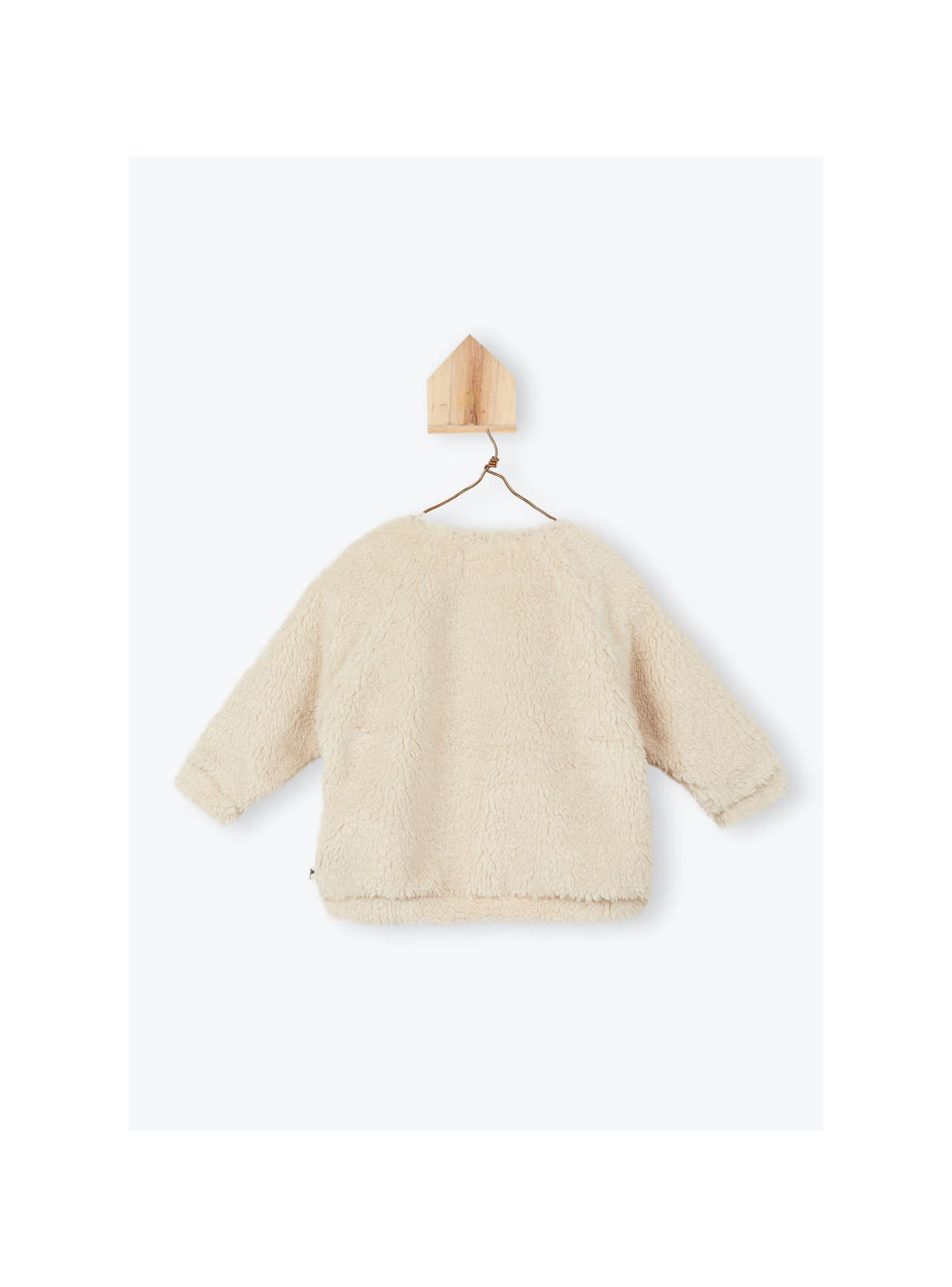Arsène et les Pipelettes Sherpa baby sweater Aron