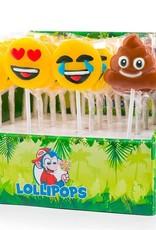 Mini emoticon pops