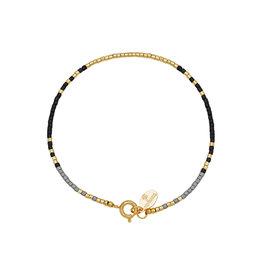 With love Bracelet delicate black