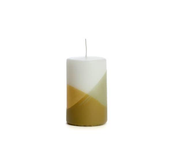 Rustik Lys Candle cross Eucalyptus 6 x 10 cm