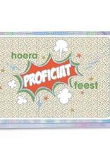 Enfant Terrible Enfant Terrible card  + enveloppe 'Hoera proficiat feest'