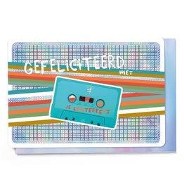 Enfant Terrible Enfant Terrible card  + enveloppe 'lentefeest casette'