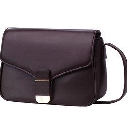 With love Bag dark brown  22cm x 17cm x 9cm