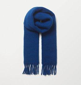 Beck Söndergaard Yuta scarf - Mazarine blue - alpaca wool - 26 x 210 cm
