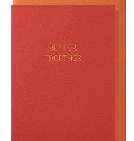Papette Papette greeting card + enveloppe 'Better together'