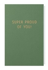 Papette Papette small greeting card 'Super proud of you' 8,5 x 13,3 cm