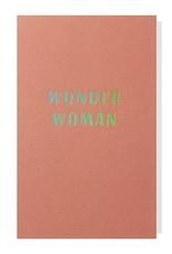 Papette Papette small greeting card 'Wonder woman' 8,5 x 13,3 cm