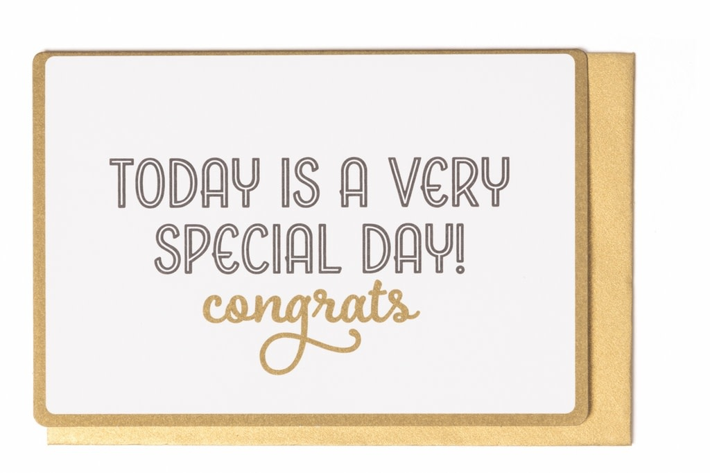Enfant Terrible Enfant Terrible card  + enveloppe 'Today is a very special day'