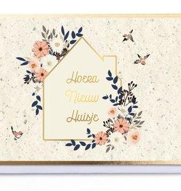 Enfant Terrible Enfant Terrible card  + enveloppe 'Hoera nieuw huisje'