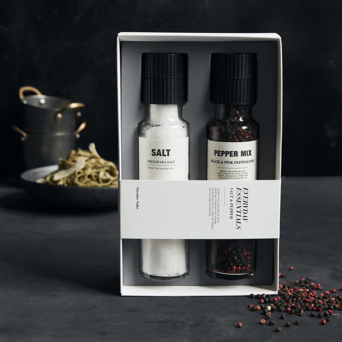Nicolas Vahé Gift box - Salt & pepper