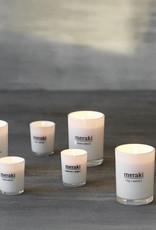 Meraki Meraki scented candle fresh cotton 8 x 10,5 cm
