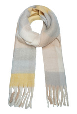 With love Scarf winter magic yellow