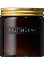 Wellmark Candle sandalwood 'Just relax'