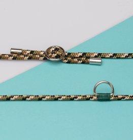 Kascha-C Basic cord 1.5 M - silver Army