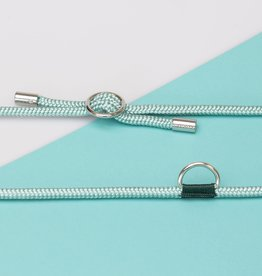 Kascha-C Basic cord 1.5 M - silver Turquoise