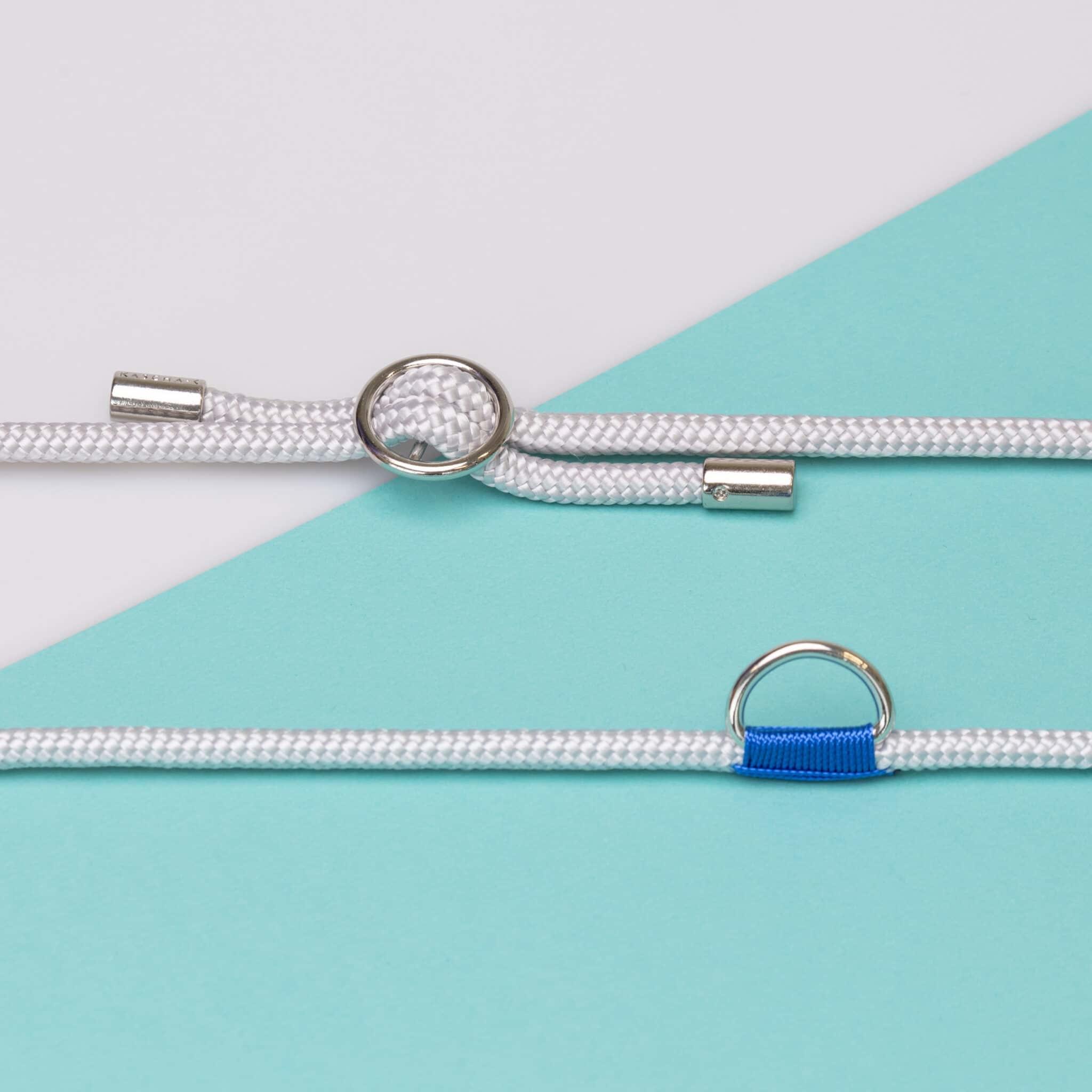 Kascha-C Basic cord 1.5 M - silver Grey