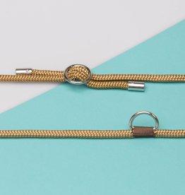 Kascha-C Basic cord 1.5 M - gold Golden Rock