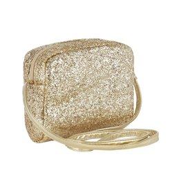 Mimi & Lula Mimi glitter crossbody bag gold