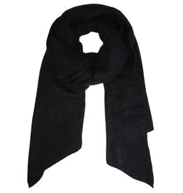 With love Scarf  comfy winter - black