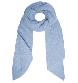 With love Scarf  comfy winter - light blue