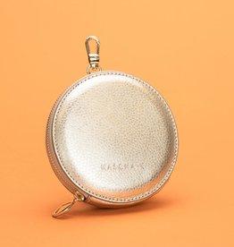 Kascha-C Wallet De Round gold 11 x 2 cm