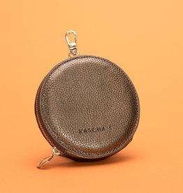 Kascha-C Wallet De Round copper 11 x 2 cm
