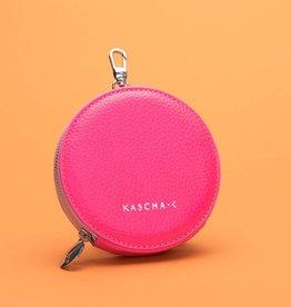 Kascha-C Wallet De Round neon pink 11 x 2 cm