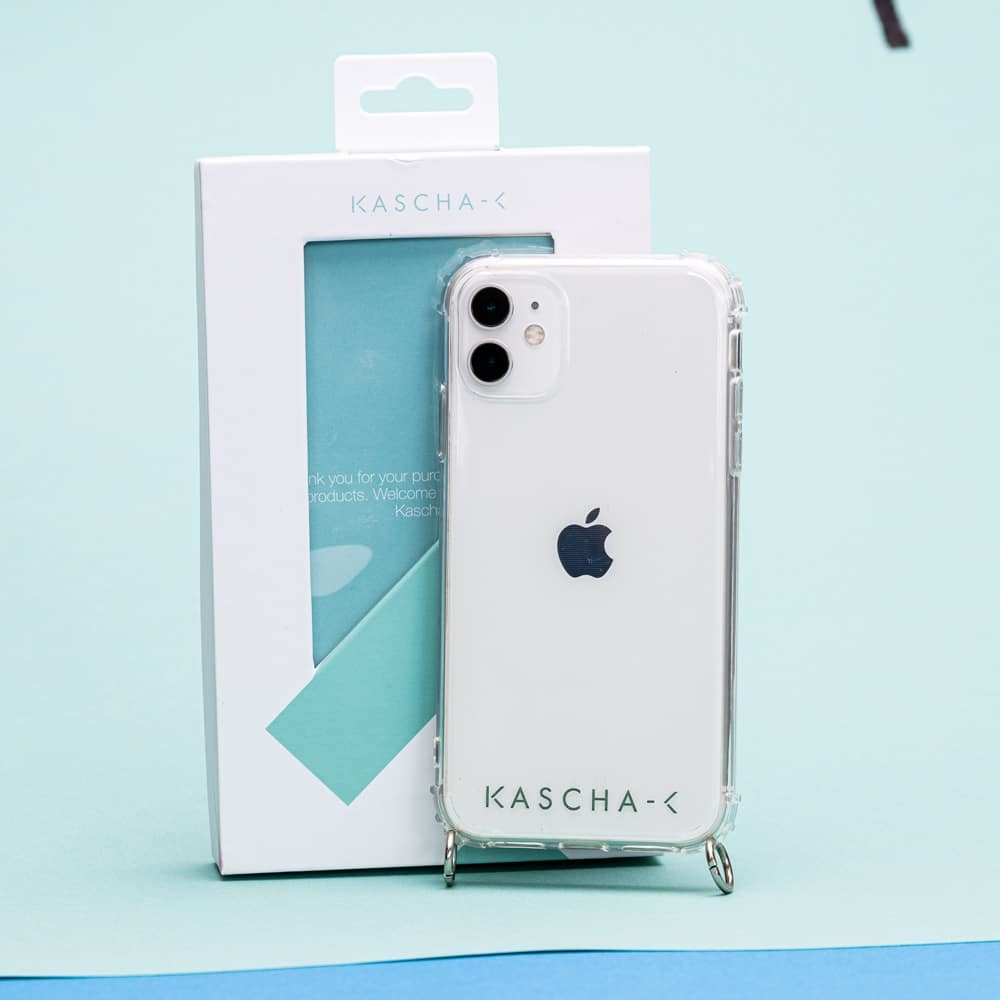 Kascha-C Essential cover silver Iphone XR
