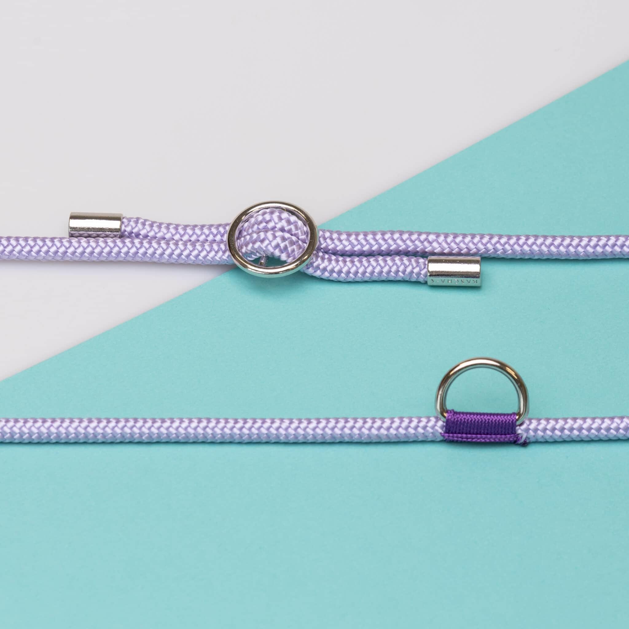 Kascha-C Basic cord 1.5 M -  silver Lila