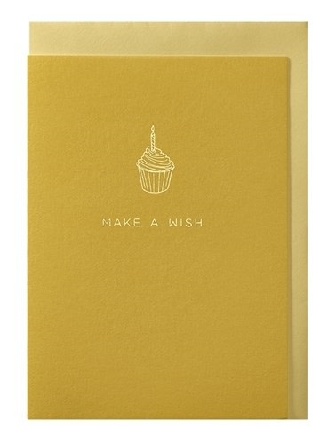 Papette Papette greeting card + enveloppe 'Make a wish'