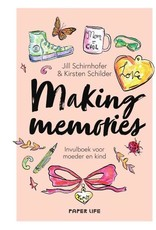 Lannoo Uitgeverij Making memories - invulboek voor moeder en kind