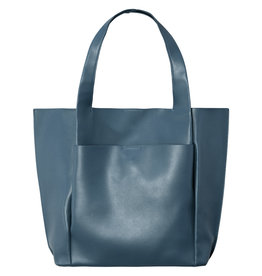 With love PU bag petrol - 40cm x 33cm x 12cm
