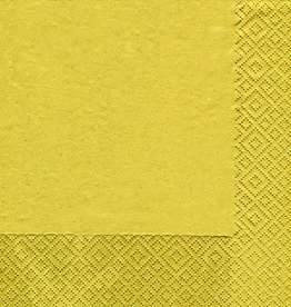 Paperproducts Design 20 napkins  gold 33 x 33 cm