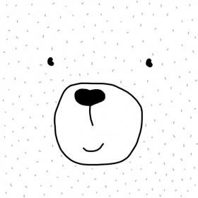 Paperproducts Design 20 napkins  bear 33 x 33 cm