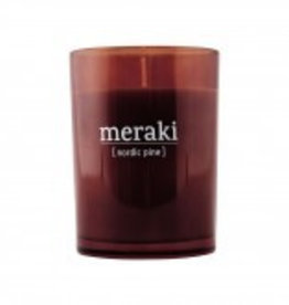 Meraki Meraki scented candle Nordic Pine 8 x 10.5 cm