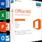 Microsoft Office 365 Home 5-PC/MAC 1 jaar